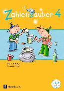 Cover-Bild zu Zahlenzauber 4. Schuljahr. Neuausgabe. Schülerbuch mit Kartonbeilagen. BY von Betz, Bettina