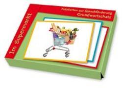 Cover-Bild zu Fotokarten zur Sprachförderung Grundwortschatz: Im Supermarkt von Redaktionsteam Verlag an der Ruhr