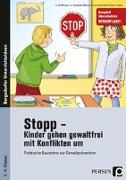 Cover-Bild zu Stopp - Kinder gehen gewaltfrei mit Konflikten um von Hoffmann