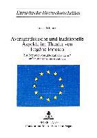 Cover-Bild zu Schirmer, Lothar: Avantgardistische und traditionelle Aspekte im Theater von Eugène Ionesco