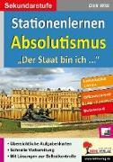 Cover-Bild zu Stationenlernen Absolutismus (eBook) von Witt, Dirk