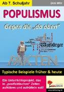"""Cover-Bild zu Populismus - Gegen die """"da oben"""" (eBook) von Witt, Dirk"""