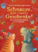 Cover-Bild zu Angermayer, Karen Christine: Schnauze, jetzt rieselt's Geschenke