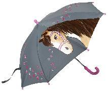 Cover-Bild zu Reflektierender Regenschirm Pferde