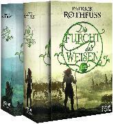 Cover-Bild zu Rothfuss, Patrick: Die Furcht des Weisen, Teile 1 und 2 (Die Königsmörder-Chronik, Bd. 2)
