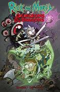 Cover-Bild zu Rothfuss, Patrick: Rick and Morty vs. Dungeons & Dragons