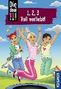 Cover-Bild zu Vogel, Maja von: Die drei !!!, 1, 2, 3 Voll Verliebt! (drei Ausrufezeichen) (eBook)