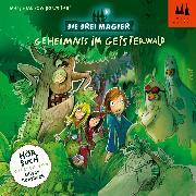 Cover-Bild zu Die Drei Magier Hörbuch Folge 2 - Geheimnis im Geisterwald (Audio Download) von Bornstädt, Matthias von