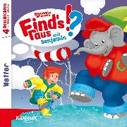 Cover-Bild zu Benjamin Blümchen - Find's raus mit Benjamin - Folge 2: Wetter (Audio Download) von Bornstädt, Matthias von