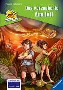 Cover-Bild zu Erstleser - leichter lesen: Das verzauberte Amulett von Nahrgang, Frauke
