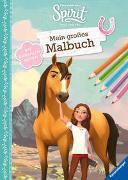 Cover-Bild zu Dreamworks Spirit Wild und Frei: Mein großes Malbuch von DreamWorks Animation L.L.C. (Illustr.)