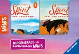 """Cover-Bild zu Verkaufs-Kassette """"Ravensburger Minis 10 - Dreamworks Spirit Frei und Ungezähmt"""" von Korda, Steffi"""