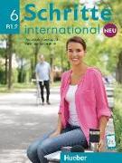 Cover-Bild zu Schritte international Neu 6. Kursbuch+Arbeitsbuch+CD zum Arbeitsbuch von Hilpert, Silke