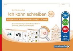 Cover-Bild zu Langhans, Katrin: Ich kann schreiben Teil 2 - Ausgabe mit Artikelkennzeichnung 1. Klasse
