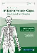 Cover-Bild zu Langhans, Katrin: Ich kenne meinen Körper - Skelett, Muskeln und Wirbelsäule