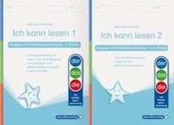 Cover-Bild zu Langhans, Katrin: Ich kann lesen 1 und 2 - Ausgabe mit Artikelkennzeichnung für die 1. und 2. Klasse
