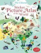 Cover-Bild zu Sticker Picture Atlas of the World von Lake, Sam