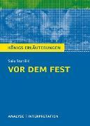 Cover-Bild zu Vor dem Fest. Königs Erläuterungen (eBook) von Möbius, Thomas