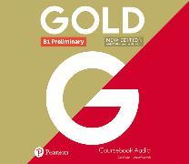 Cover-Bild zu New Gold Preliminary NE 2019 Class Audio
