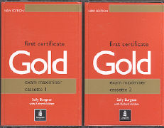 Cover-Bild zu First Certificate Gold - Classic! First Certificate Gold Maximiser Audio Cassettes (2) - First Certificate Gold von Burgess, Sally