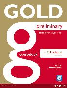 Cover-Bild zu New Gold Preliminary Coursebook with CD-ROM and Prelim MyLab Pack von Walsh, Clare