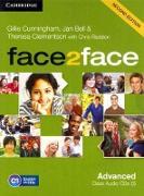 Cover-Bild zu face2face Advanced. Class Audio CD von Bell, Jan