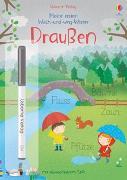 Cover-Bild zu Brooks, Felicity: Meine ersten Wisch-und-weg-Wörter: Draußen