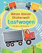 Cover-Bild zu Brooks, Felicity: Meine kleine Stickerwelt: Lastwagen
