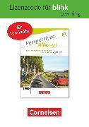 Cover-Bild zu Perspectives - Allez-y !, B1, Kurs- und Übungsbuch als E-Book mit Audios und Videos, Gedruckter Lizenzcode für BlinkLearning (24 Monate für Lehrkräfte)