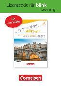 Cover-Bild zu Perspectives - Allez-y !, A1, Kurs- und Übungsbuch als E-Book mit Audios und Videos, Gedruckter Lizenzcode für BlinkLearning (24 Monate für Lehrkräfte)