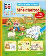 Cover-Bild zu Wenzel, Ida: WAS IST WAS Kindergarten. Im Streichelzoo
