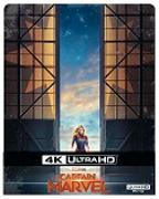 Cover-Bild zu Boden, Anna (Reg.): Captain Marvel - 4K+2D - Steelbook (2 Disc)
