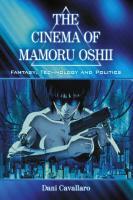Cover-Bild zu Cavallaro, Dani: The Cinema of Mamoru Oshii