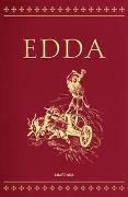 Cover-Bild zu Edda - Die Götter- und Heldenlieder der Germanen (Cabra-Lederausgabe) von Sveinsson, Brynjolfur