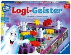 Cover-Bild zu Baars, Gunter: Ravensburger 25042 - Logi-Geister - Spielen und Lernen für Kinder, Lernspiel für Kinder von 5-10 Jahren, Spielend Neues Lernen für 2-4 Spieler