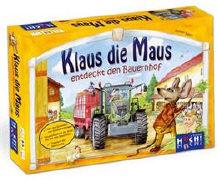 Cover-Bild zu Baars, Gunter (Idee von): Klaus die Maus entdeckt den Bauernhof