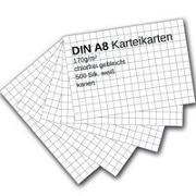 Cover-Bild zu Karteikarten 500 Stück A8 weiß kariert von Ademo, Verlag (Hrsg.)