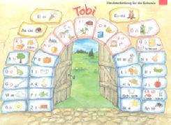 Cover-Bild zu Tobi, Schweiz - Neubearbeitung 2015, 1. Schuljahr, Buchstabentabelle, 10 Stück im Paket
