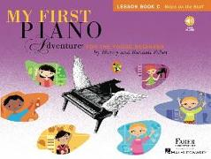 Cover-Bild zu My First Piano Adventure: Lesson Book C with Online Audio von Faber, Nancy (Komponist)