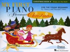 Cover-Bild zu My First Piano Adventure Christmas for the Young Beginner von Faber, Nancy (Komponist)