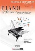 Cover-Bild zu PIANO ADVENTURES TECHNIK VORTRAGSHEFT 4 von FABER, NANCY