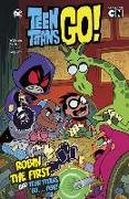 Cover-Bild zu Wolfram, Amy: Robin the First and Teen Titans Go ... Fish!