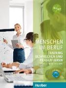 Cover-Bild zu Menschen im Beruf - Training Besprechen und Präsentieren von Schlüter, Sabine