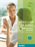 Cover-Bild zu Menschen im Beruf - Bewerbungsstraining. Kursbuch mit Audio-CD von Gerhard, Corinna