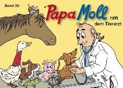 Cover-Bild zu Papa Moll hilft dem Tierarzt (eBook) von Lendenmann, Jürg