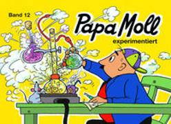 Cover-Bild zu Papa Moll experimentiert von Oppenheim, Rachela + Roy