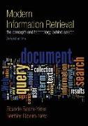 Cover-Bild zu Modern Information Retrieval von Baeza-Yates, Ricardo