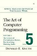 Cover-Bild zu Art of Computer Programming, Volume 4B, Fascicle 5 von Knuth, Donald E.