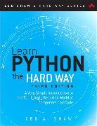 Cover-Bild zu Learn Python the Hard Way von Shaw, Zed A.