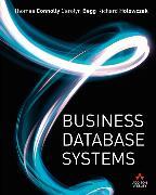 Cover-Bild zu Business Database Systems von Connolly, Thomas